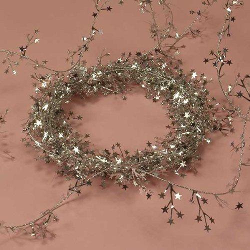 Silver Small Star Garland (Metallic Garland Silver)