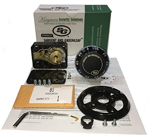 Sargent and Greenleaf 6730-100 Safe Lock Kit by Sargent & Greenleaf