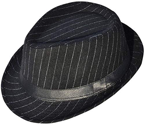 Wear Fedora Hat - Denovit Mens & Women's Classic Sleek Dapper Fedora Hat,Black3