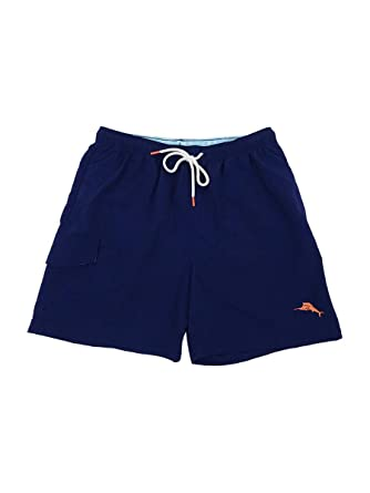 fb0bba90ac Image Unavailable. Image not available for. Color: Tommy Bahama Men's  Naples Coast Solid Swim Trunks ...