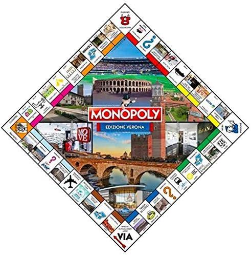HASBRO - WINNING MOVES Monopoly Edizione Verona