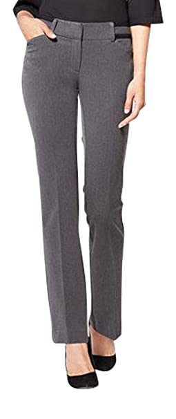 929ed61d057 Tall Straight Leg Pant - Mid Rise - Signature - Grey - at Amazon Women s  Clothing store