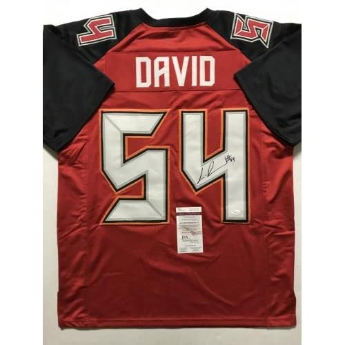 5aa980713 on sale Lavonte David Signed Jersey - Red COA - JSA Certified - Autographed  NFL Jerseys