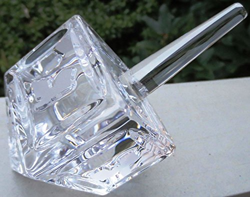 Waterford Crystal Collectible Dreidel Judaica Gift for Chanukah