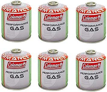 Coleman C500 - 6 bombonas de gas con 440 g de gas: Amazon.es ...
