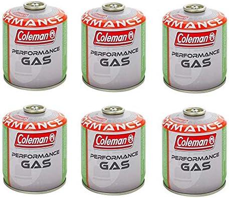 Coleman C500 - 6 bombonas de gas con 440 g de gas ...