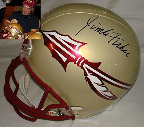 Coach Jimbo Fisher Hand Signed / Autographed Florida State Seminoles Full Siz...