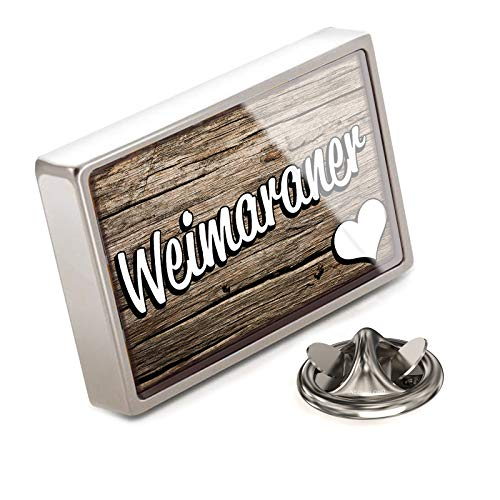 NEONBLOND Lapel Pin Weimaraner, Dog Breed Germany