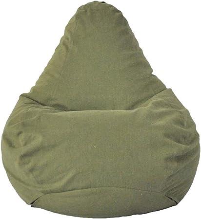 Bolsa de Frijol de Soja para Adultos Silla De Puff Bean Bag/Beanbag/Bolsa De Frijoles Gaming Lounger Giant Puffs Pera Muebles De Jardín para Interiores Y Exteriores Sofá Perezoso: Amazon.es: Hogar