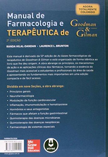 Manual de Farmacologia e Terapêutica de Goodman & Gilman
