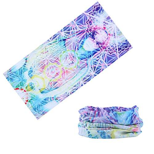 [Qinglonglin Casual Headwear Versatile Outdoor Magic Sports Women Headband Bandanna Yoga Scarf Wrap & Comfortable and] (Pirate Makeup Female)