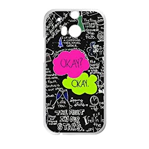 ORIGINE Black White Okay Hot Seller Stylish Hard Case For HTC One M8 by icecream design