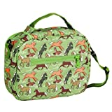 Wildkin Horses in Green Original Lunch Bag