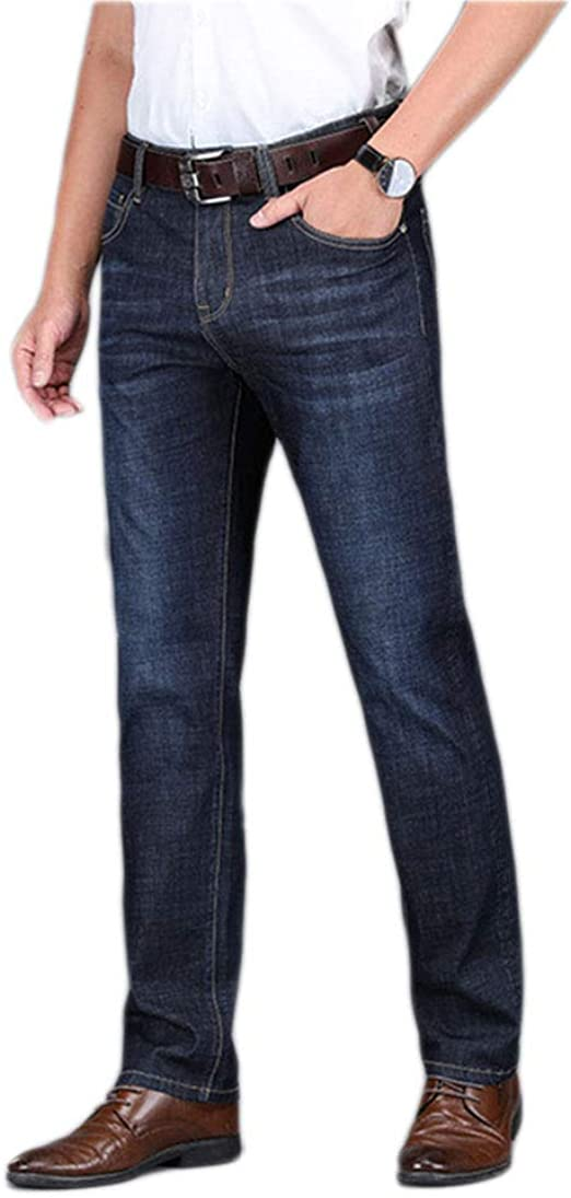 Smileメンズ デニムパンツ ジーンズ ズボン ストレートジーンズ 紳士 大きいサイズ