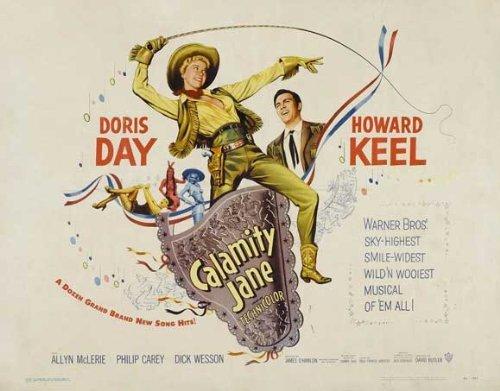 Calamity Jane POSTER Movie (22 x 28 Inches - 56cm x 72cm) (1953) (Half Sheet Style (22 Half Sheet Movie Poster)