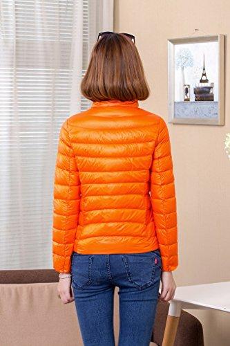 Outwear Women's Light Warm Coat Winter Jacket Orange Down ACMEDE zY6vcaY