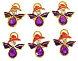 Red Hat Lady Society Angel Pin 6 Pack