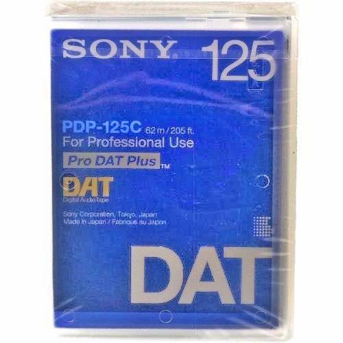 Sony DAT Tape 125 Minute