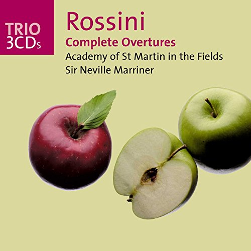 Academy Of St Martin In The Fields - Rossini Complete Overtures - Zortam Music