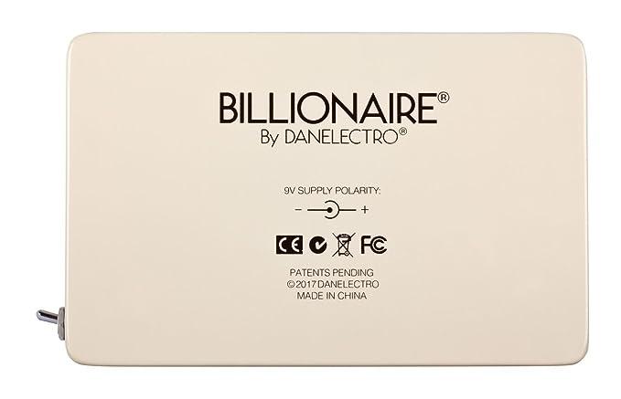 Amazon.com: Danelectro Billionaire BAT-1 Battery Billionaire Pedal ...