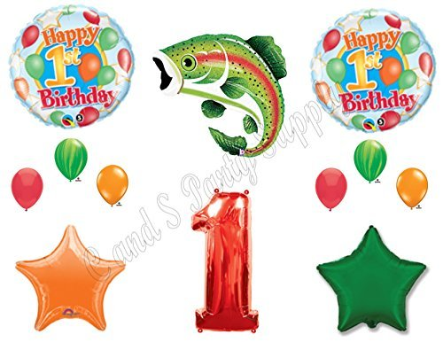 List of the Top 10 fish balloons 1st birthday you can buy in 2019
