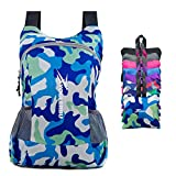 YOULERBU Lightweight Packable Backpack, Travel Hiking Daypack, Camping Backpack for Men Women (camoblue, 25L) Review