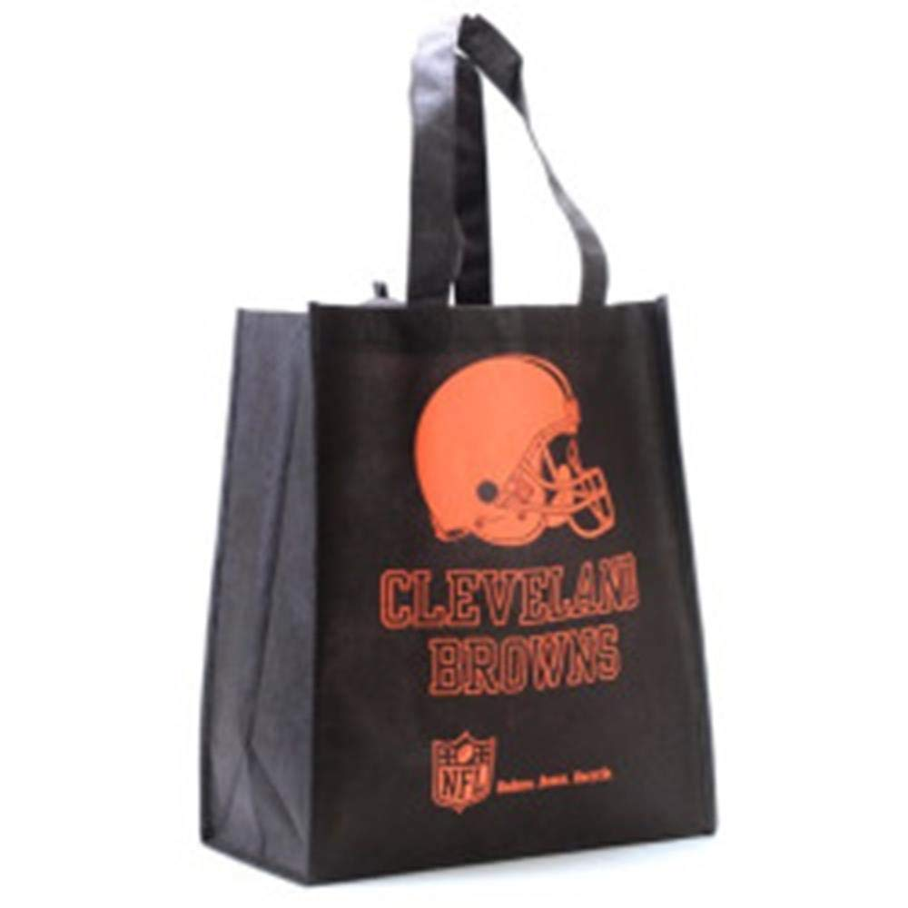 【初回限定お試し価格】 NFL B001IDDO9C Cleveland Browns印刷不織布ポリプロピレンReusable Grocery Cleveland Toteバッグ Grocery、1サイズ、オレンジ B001IDDO9C, やさしさON-LINE:b7467a52 --- arianechie.dominiotemporario.com