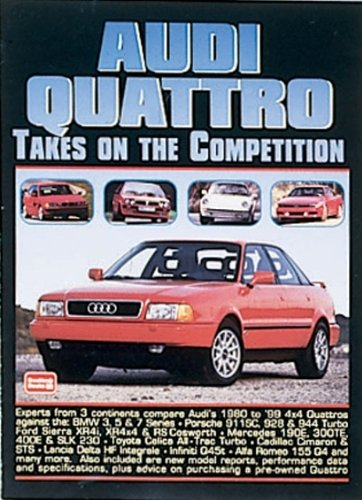 S2 Coupe (Audi Quattro Takes On the Competition)