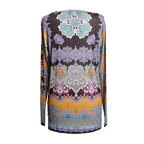 Etro Mujer 186505273700 Multicolor Viscosa T-Shirt
