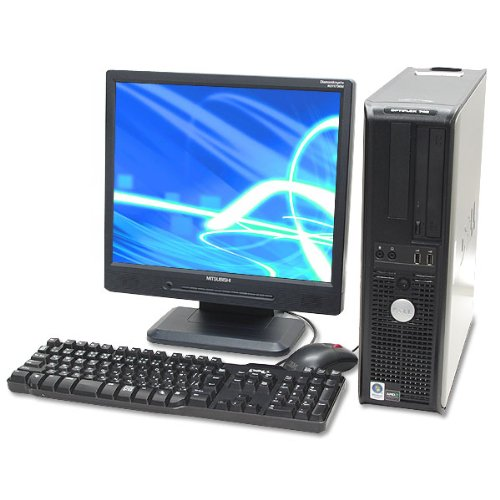 【まとめ買い】 Dell Windows7搭載 745 中古デスクトップパソコン Windows7搭載 DELL OPTIPLEX 745 Core2Duo 2.33GHz Core2Duo 2GB 80GB DVDスーパーマルチ 17インチ液晶セット B00A8EAUK8, 京都発インナーショップ白鳩:f893163b --- arbimovel.dominiotemporario.com