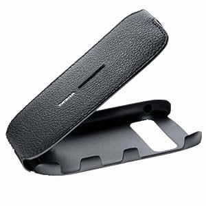 Nokia NOCP507 - Funda de piel para Nokia C7, color negro