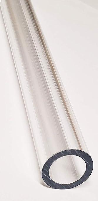 "CLEAR ACRYLIC PLEXIGLASS LUCITE TUBE 3 1//2"" OD 3 1//4/"" ID DIAMETER 24"" INCH LONG"