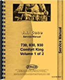 Case 830 Tractor Service Manual