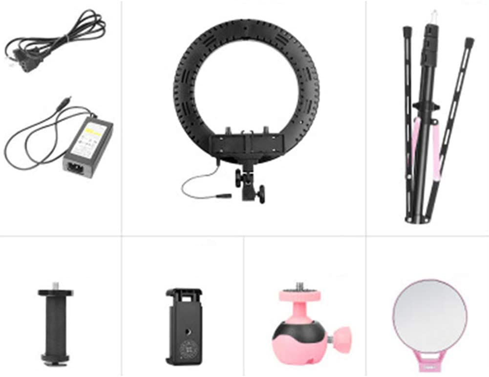 YAYONG LED Ring Photography Fill Light Beauty Lamp Makeup Anchor Live Broadcast Light Set