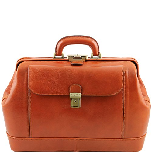 Tuscany Leather - Sac médical Leonardo Exclusive en cuir miel Tl141299 / 3