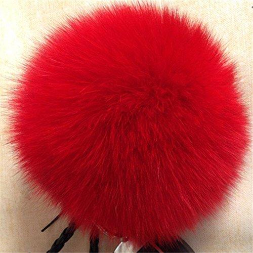 Dikoaina Keychain Purse Charm Fluffy product image
