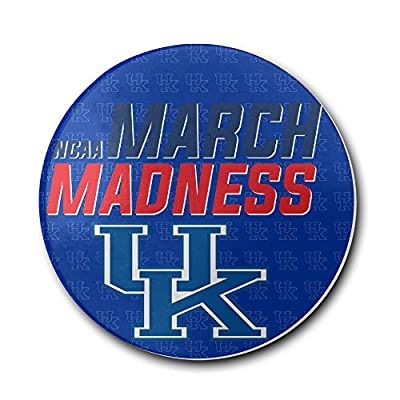 2016 March Madness Kentucky Wildcats UK Basketball Logo Coasters Cork Pat Mat
