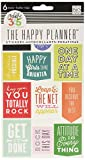"""me & my BIG ideas Create 365 The Happy Planner """"Get It Done"""" Stickers, 6 Sheets"""