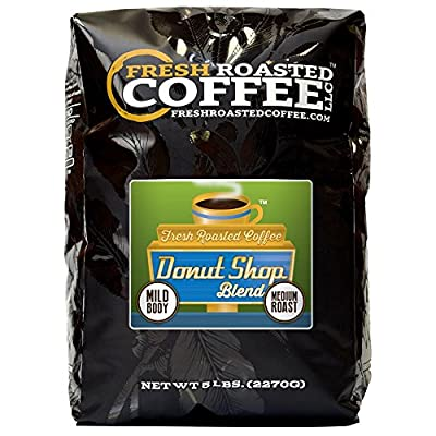 Donut Shop Blend Coffee, Whole Bean coffee, Fresh Roasted Coffee LLC. from Fresh Roasted Coffee LLC.