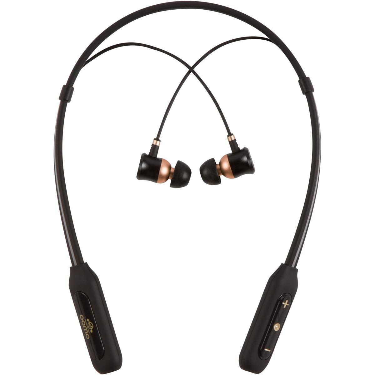 Oomo 3D 5.1 Surround Sound Bluetooth Earphones | Endorsed by Emmy Winning Audio Team I Noise Reduction I Gaming I ASMR I Music I Deep Bass I Wireless