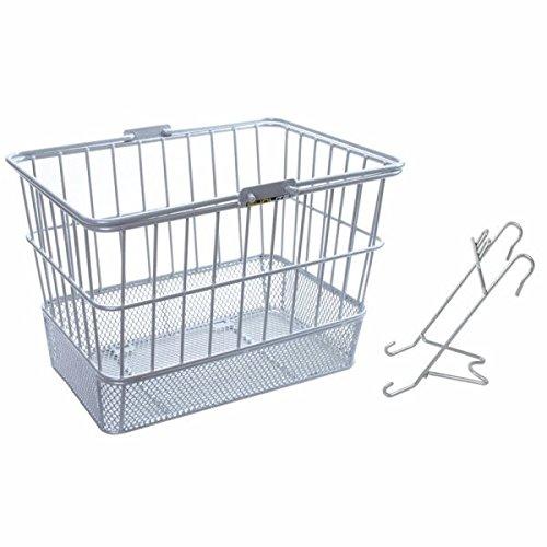 Sunlite Standard Mesh Bottom Lift-Off Basket w/Bracket, Silver