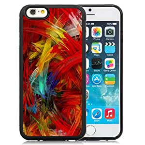 New Personalized Custom Designed For iPhone 6 4.7 Inch TPU Phone Case For Colorful Feather Phone Case Cover