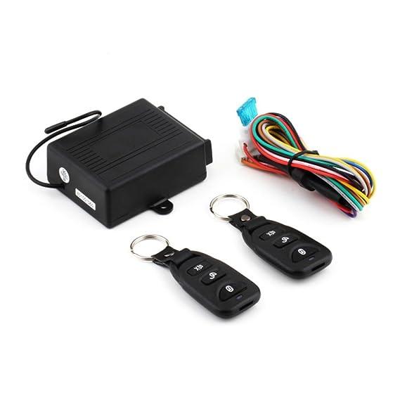 Amazon.com: WINOMO Universal Car Alarm Remote Control System ...