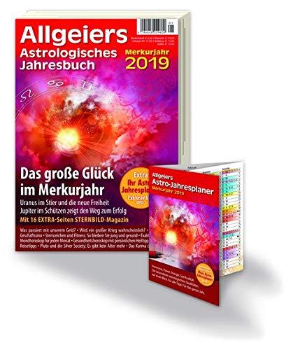 Allgeiers Astrologisches Jahresbuch 2019: Mit herausnehmbarem ASTRO-JAHRESPLANER Taschenbuch – 10. Oktober 2018 Michael Allgeier Allgeier Verlag e.K. 3944882059 Astro Jahresplaner