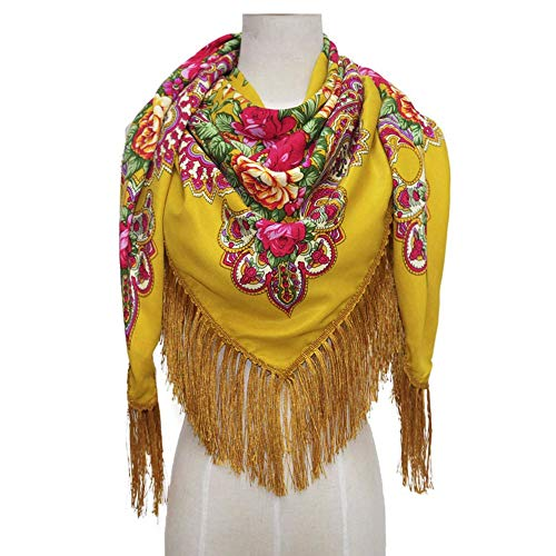 COSAUG Traditional Ukrainian Scarf and wrap with Tassel for sale  Delivered anywhere in Canada