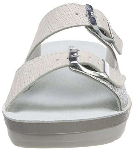 Silver 89 Women's Silver Grey Rohde 9 Cisano Silber Mules UK 40wdqz1d