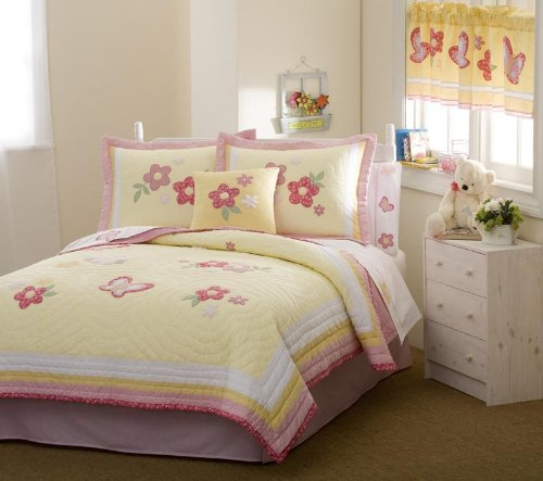 Golden Trail Full / Queen Quilt with 2 Shams