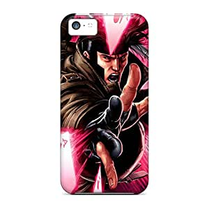Scratch Protection Hard Phone Covers For Apple Iphone 5c (Xfz7591hWMQ) Custom High-definition Gambit I4 Image