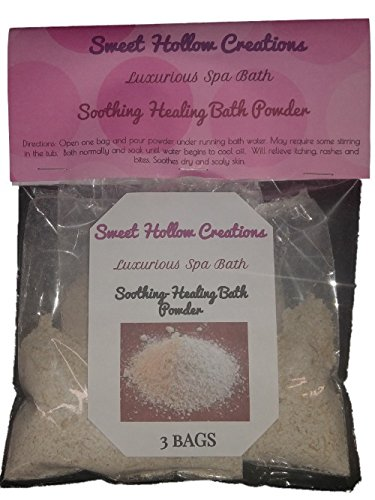 Luxurious Spa Bath Soothing Healing Bath Powder- Oatmeal_like a v e e n o - baby bath-totally all natural for all skin types. Relieves diaper rash, cradle cap and other skin irritants.