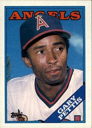 Amazoncom 1988 Topps Baseball Card 71 Gary Pettis Mint